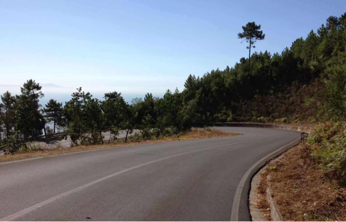 I due versanti di Montemarcello
