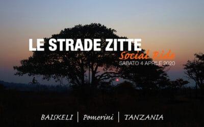 Strade Zitte Social Ride per Baiskeli