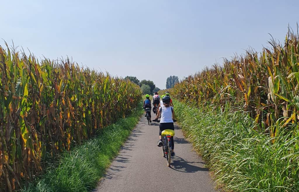 cicloturismo e strade zitte