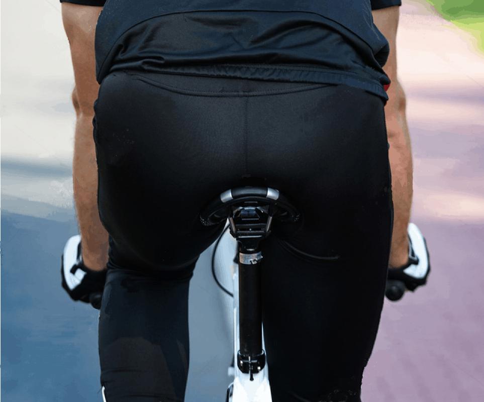 La sella della bicicletta