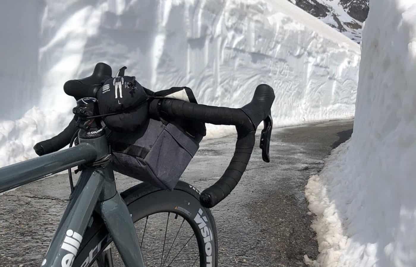 Frenare in bicicletta